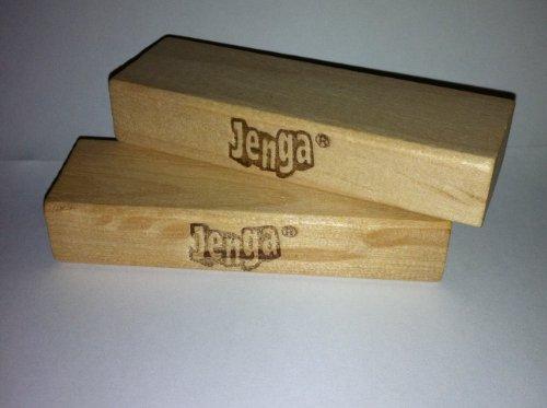 Jenga Replacement Wood Block Pieces