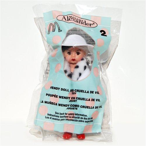 Madame Alexander Doll - Wendy Doll as Cruella De Vil - McDonalds 2004 2