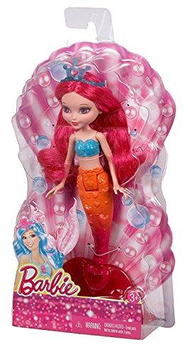 Barbie Fairytale Small Doll Mermaid Pink