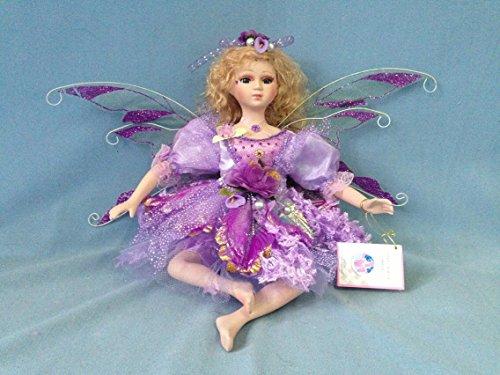 Jmisa 16 Porcelain Sitting Fairy Doll