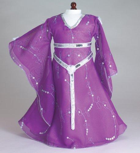 Meadow Fantasy Fairy Doll Dress with Silver Belt Fits 18 American Girl Dolls