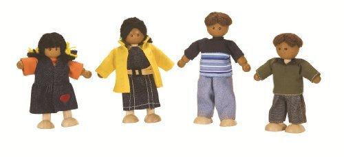 Plan Toys Dollhouse Ethnic Doll Family 1345 by PlanToys