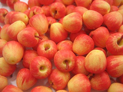 Lot 10 Loose Gala Apple Dollhouse Miniatures Food Fruit Supply Deco 11685 by Wonder Miniature