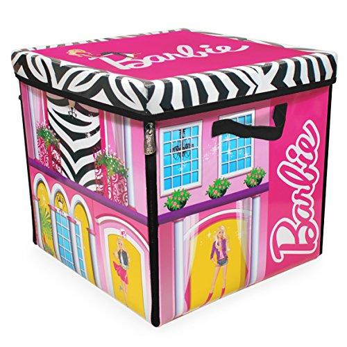 Neat-Oh Barbie ZipBin 40 Doll Dream House Toy Box Playmat