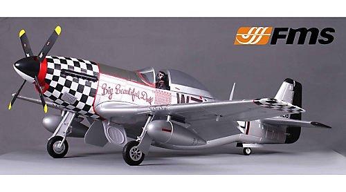 P-51D Big Beautiful Doll PNP V8 1450mm