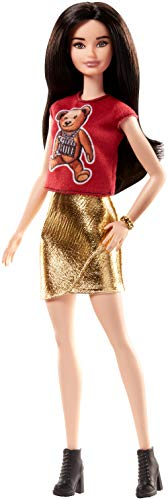 Barbie Fashionistas Doll Teddy Bear Flair