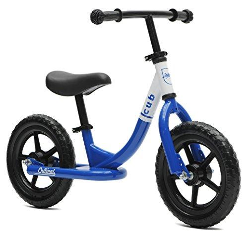 Critical Cycles Cub No-Pedal Balance Bike for Kids Royal Blue