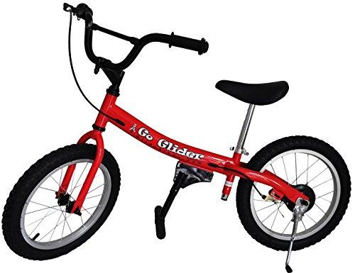 Glide Bikes Kids Go Glider Balance Bike Red 16-Inch