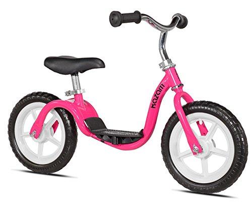 KaZAM v2e No Pedal Balance Bike 12-Inch Pink