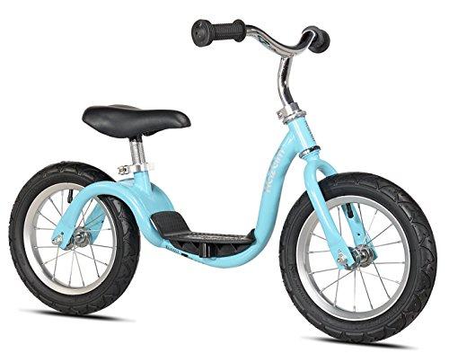 KaZAM v2s No Pedal Balance Bike 12-Inch Metallic Light Blue