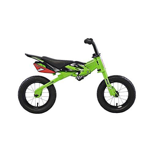 Kawasaki MX1 RunningBalance Bicycle 12 Inch Wheels Kids Bike Green