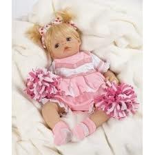 Future Cheerleader Doll Future Cheerleader 18 inch Baby Doll Artist Kathy Smith-Fitzpatrick