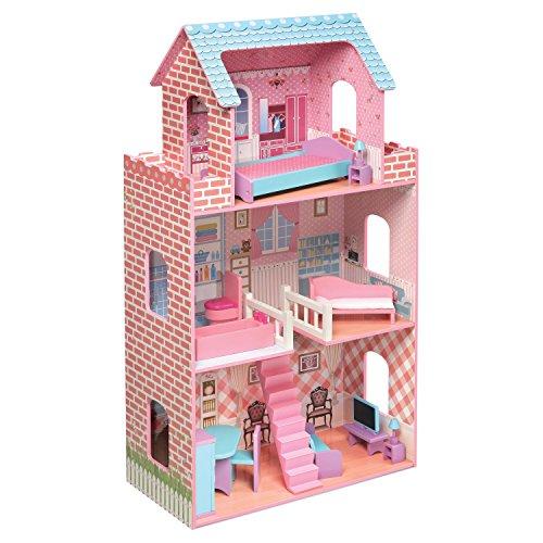 Badger Basket Wooden Dollhouse and Furniture12 inch Dolls