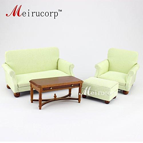 dollhouse miniature furniture Living room set 4 pcs for 112 scale