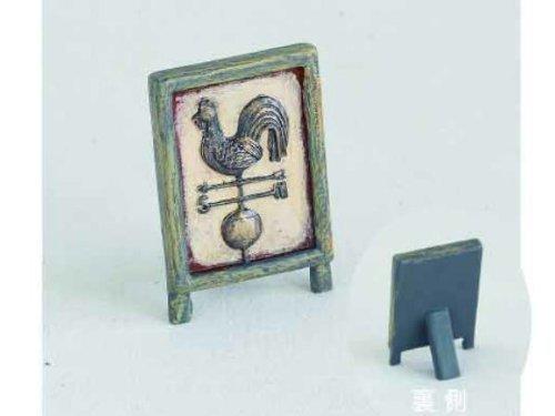Miniature Garden Resin sign board dollhouse figures ASDT2440