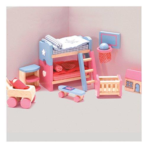 Bubblegum Dollhouse Kids Room Set Dollhouse Furniture