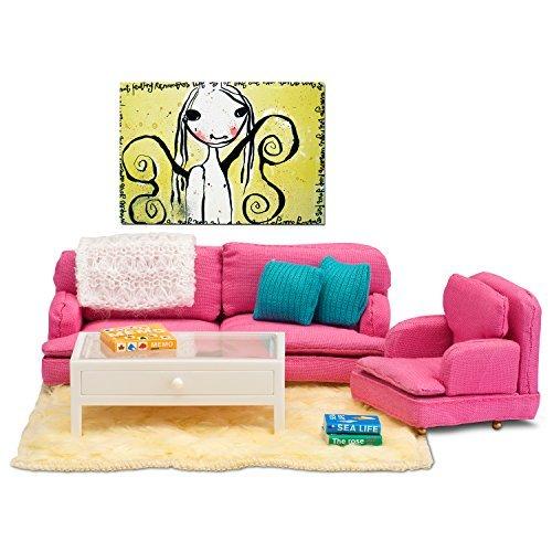 Lundby Dollhouse Accessories Modern Sitting Room Set by Lundby