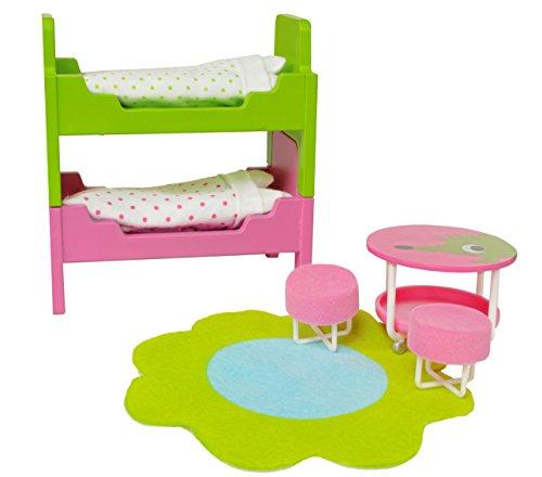 Lundby Smaland Dollhouse Childrens Room Set