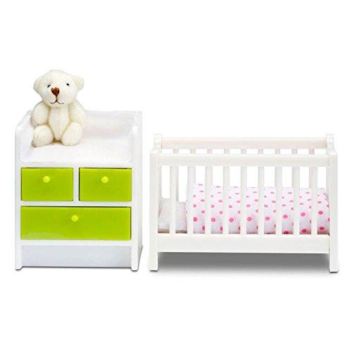 Lundby Smaland Dollhouse Nursery Set