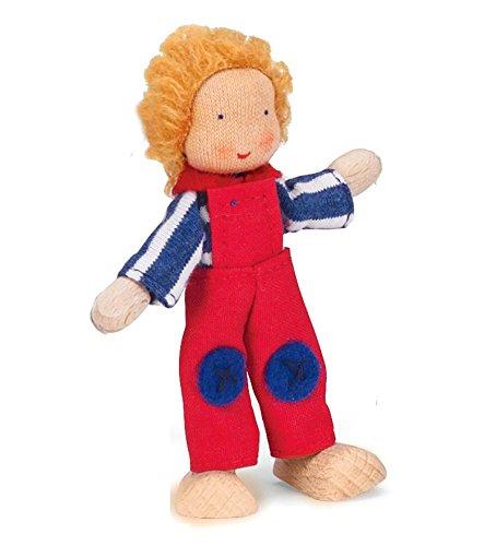 Kathe Kruse Modern Dollhouse Dolls in Little Boy