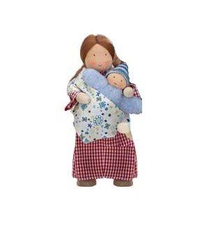 Kathe Kruse Modern Dollhouse Dolls in Mama