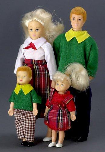 Modern Dollhouse Family Blonde