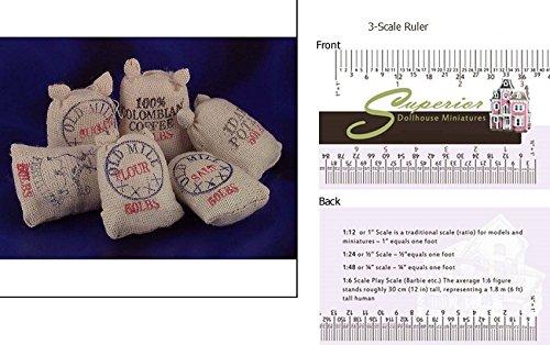 Dollhouse Food Sacks 6pk