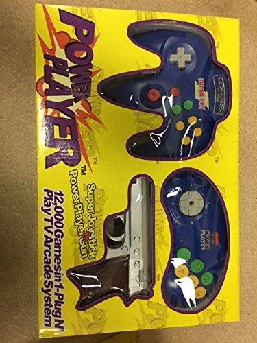 Power Player Kracker Super Joystick Plug and Play Video Game System Color Randomly Sending