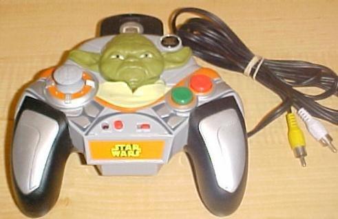 Star Wars TV Plug N Play Video Game ~Yodas Escape Turret Defense
