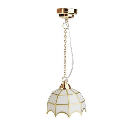112 Dollhouse Miniature Ceiling Lamp LED Light Model