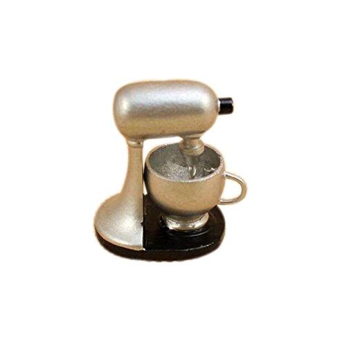 Dimart Lovely Family Kitchen Modern Blender - 112 Dollhouse Miniature Accessories - Silver