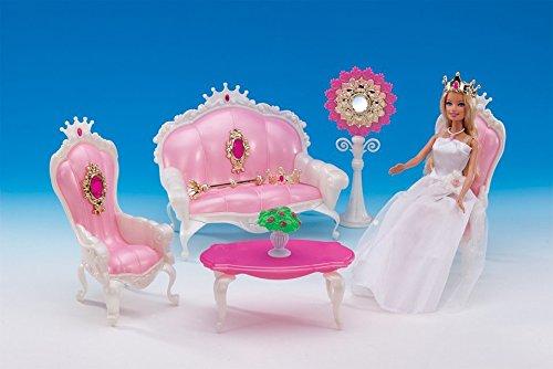 FairyStar Fashion Lovely Deluxe Restaurant Barbie Size Dollhouse living Room Furniture