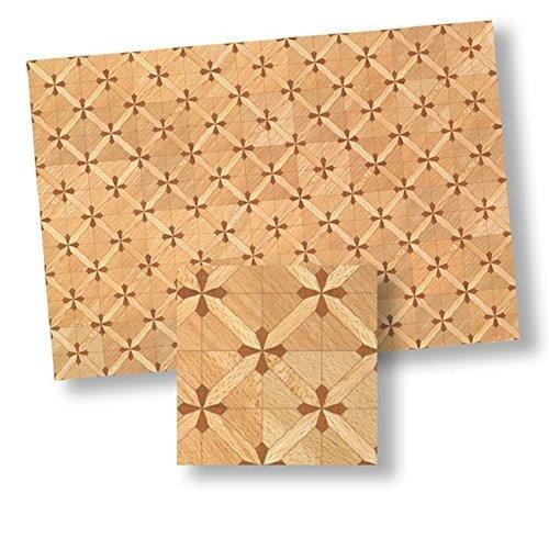 124 Dollhouse Flooring Parquet Floor Sheet by World Model