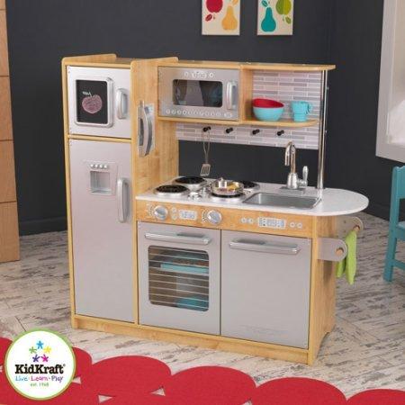 KidKraft Uptown Natural Wooden Play Kitchen Dimensions 43W x 1775W x 41H