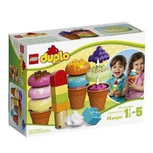 LEGO LEGO DUPLO Creative Play 10574 Creative Ice Cream block toys parallel import