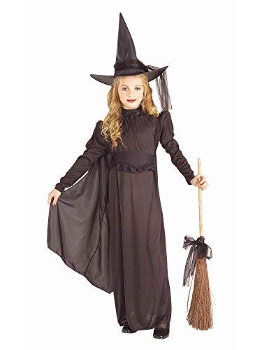 Forum Novelties Classic Witch Child Costume Medium Black
