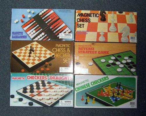 Magnetic Board Game-backgammon