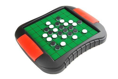 Reversi  Othello Magnetic Board Game Size Medium Dimensions 272 x 237 x 35 cm Mod SC9612 US