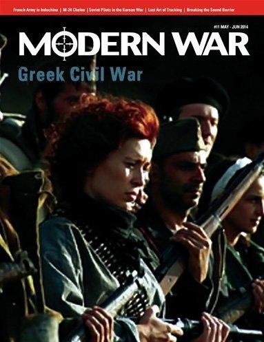 DG Modern Wars Magazine 11 with Greek Civil War Boardgame by Decision Games Modern War Magazine