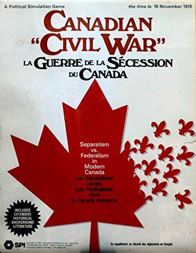 SPI Canadian Civil War Boardgame
