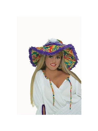 Floppy Hippie Hat Costume Accessory