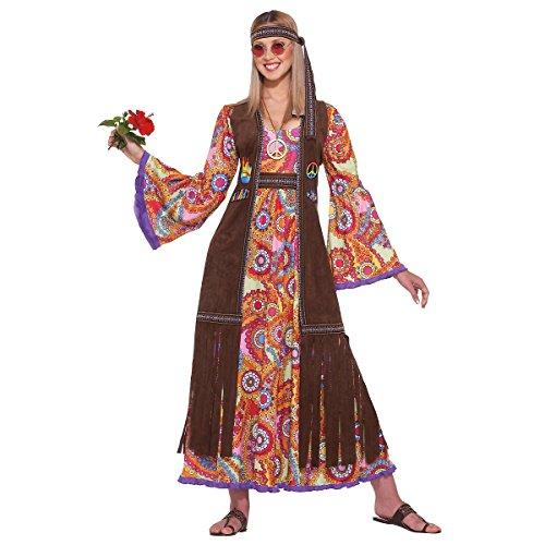 Hippie Love Child Costume - Standard - Dress Size 6-12
