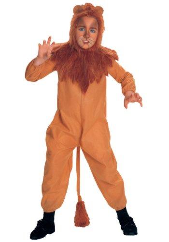 Big Boys Cowardly Lion Costume X-Large