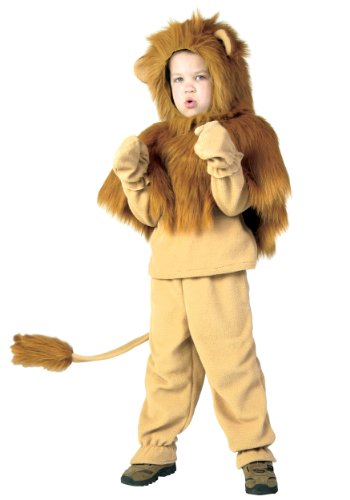Fun Costumes unisex-adult Big Boys Storybook Lion Costume Size 14