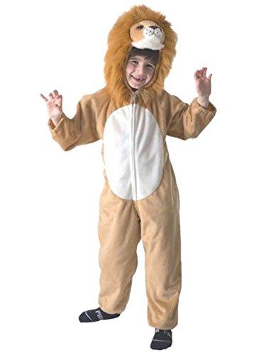 Totally Ghoul Little Boys Plush Brown Lion Costume Jumper Medium
