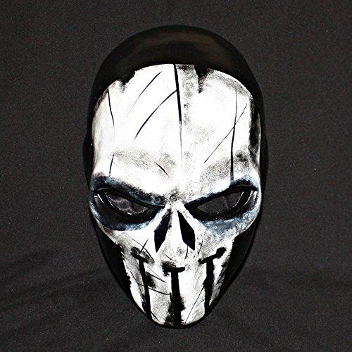 11 Custom Halloween Costume Cosplay Latex The Punisher Mask LA22