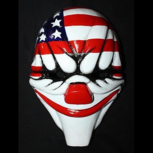 11 Custom Halloween Costume Cosplay Payday The Heist 2 Dallas Mask MA160