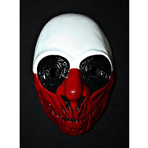 11 Custom Halloween Costume Cosplay Payday The Heist 2 Wolf Mask MA153