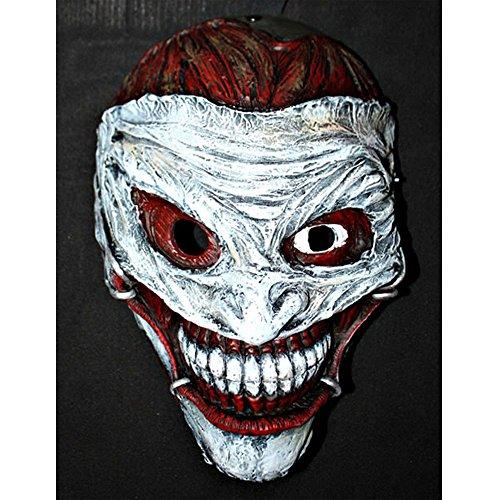 Custom Halloween Costume Cosplay Movie Prop Batman Arkham Bane Joker 52 Mask MA173