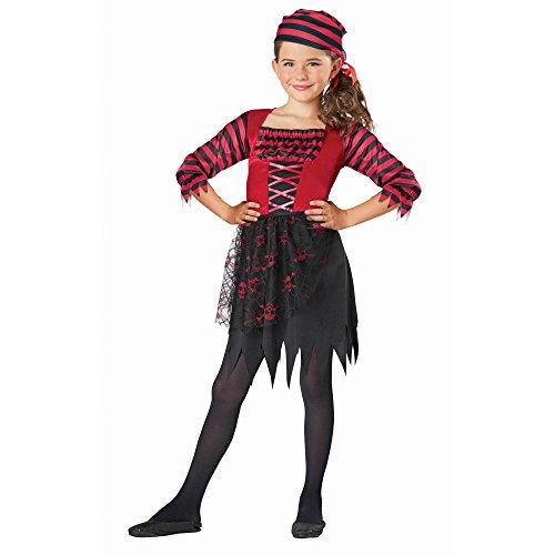 Girls PIRATE Halloween Costume Large